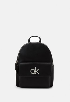 LOCK BACKPACK - Ryggsekk - black
