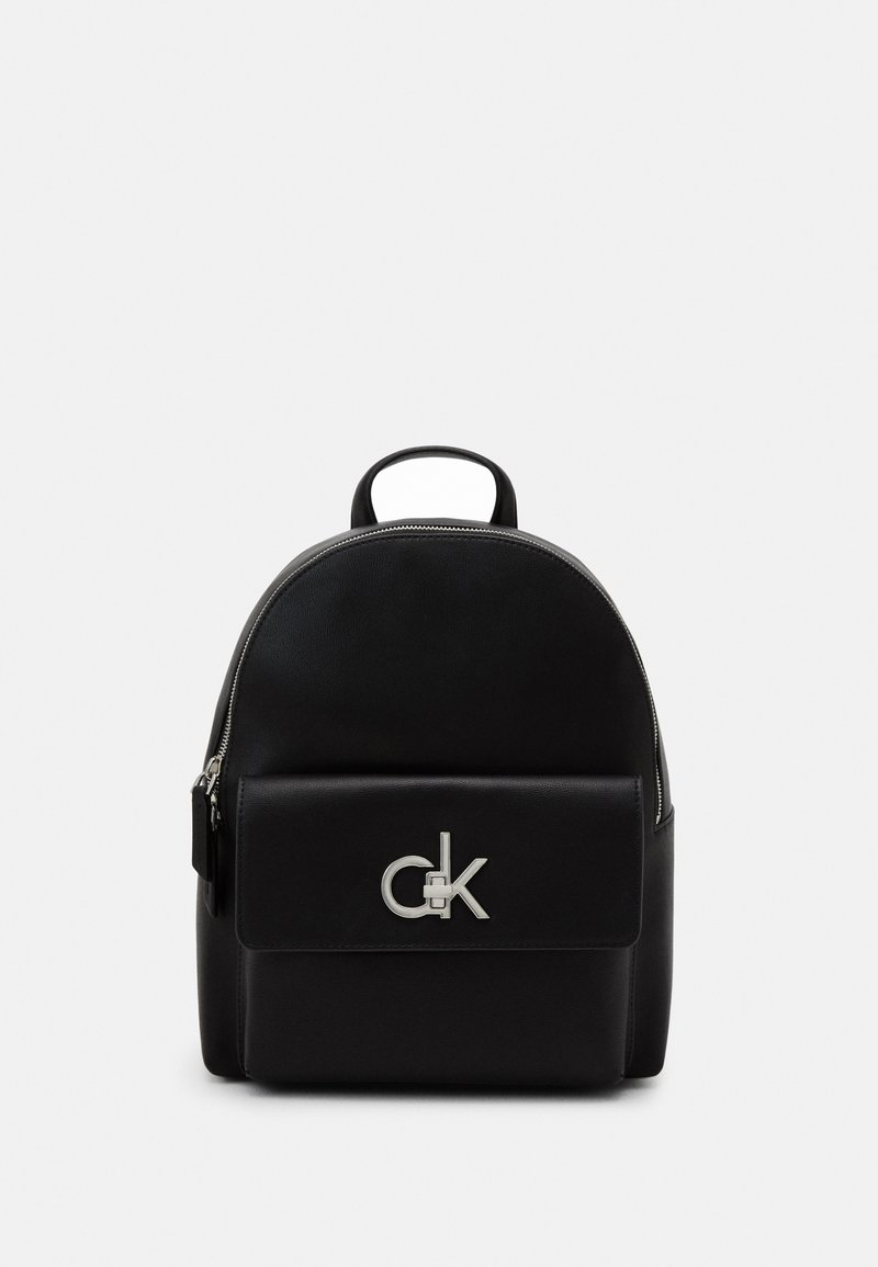 Calvin Klein - LOCK BACKPACK - Zaino - black