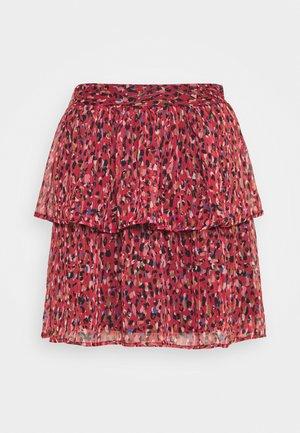 JESSICA - Mini skirt - red