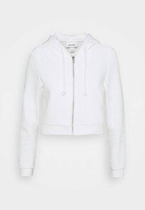 JOANNA HOODIE - Zip-up hoodie - offwhite light