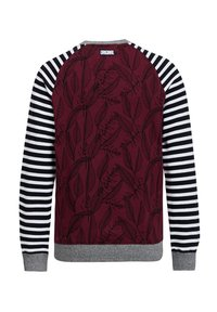 WE Fashion - Long sleeved top - burgundy red - 1