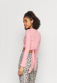 Even&Odd active - Maglietta a manica lunga - pink - 2