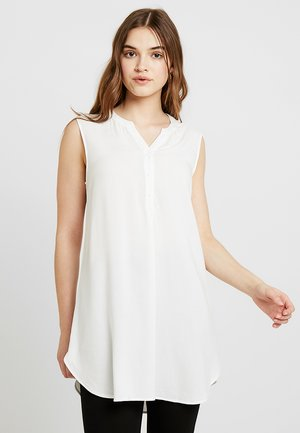 ONLFIRST LIFE TUNIC - Blus - cloud dancer