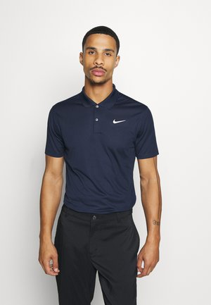 DRY VICTORY SOLID SLIM - Sports shirt - obsidian/white