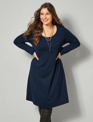 Jumper dress - marineblau