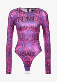Versace Jeans Couture - Long sleeved top - fuchsia - 3