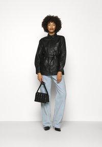 Part Two - HURI - Leather jacket - black - 1