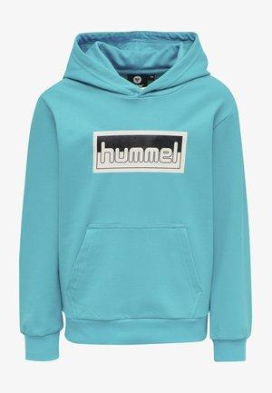 MONO HOODIE UNISEX - Hoodie - scuba blue
