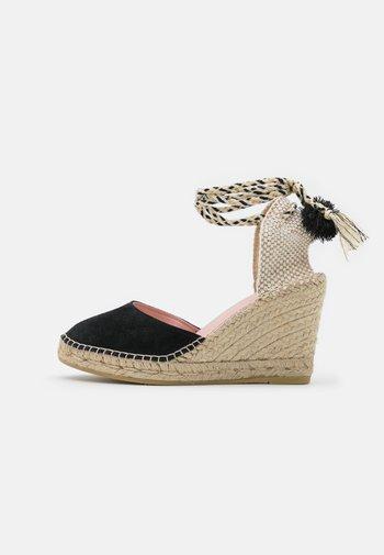 SIENNA 21 - Sandály na platformě - black
