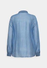 Moss Copenhagen - ABELLE - Button-down blouse - lake blue - 1