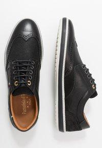 Pantofola d'Oro - MILAZZO UOMO LOW - Sznurowane obuwie sportowe - black - 1
