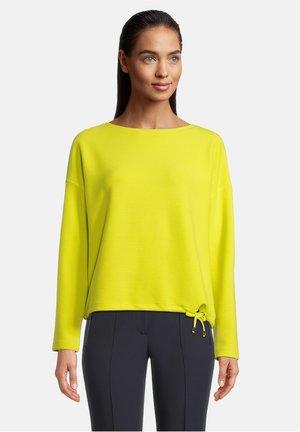MIT STREIFEN - Sweatshirt - lemon juice