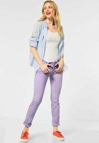 Street One - Trousers - lila - 1