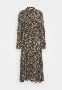 Moss Copenhagen - MEILLA LONG DRESS - Maxi dress - black - 0
