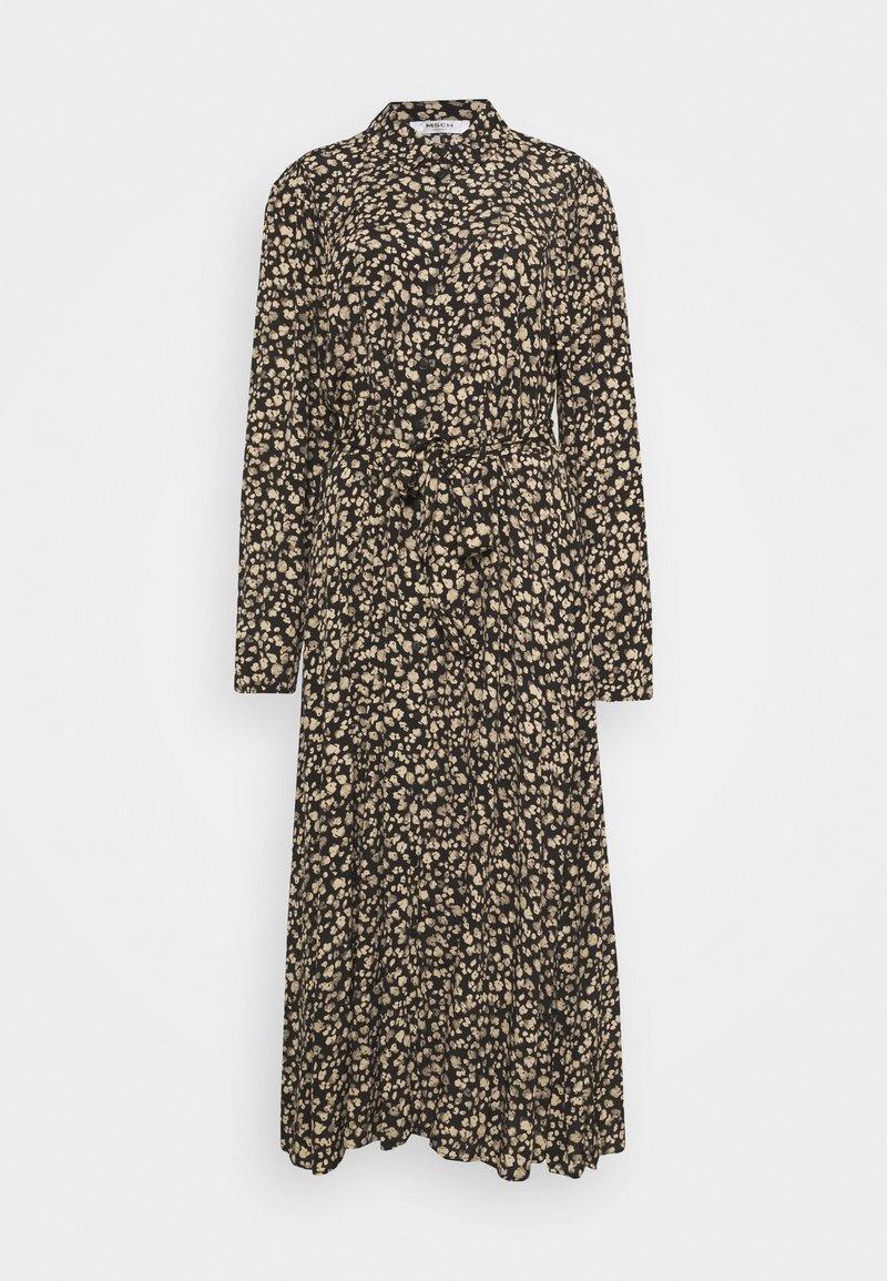 Moss Copenhagen - MEILLA LONG DRESS - Maxi dress - black