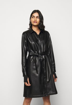 KELANA - Shirt dress - black