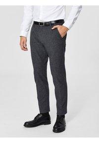 Selected Homme - Pantalón de traje - black - 0