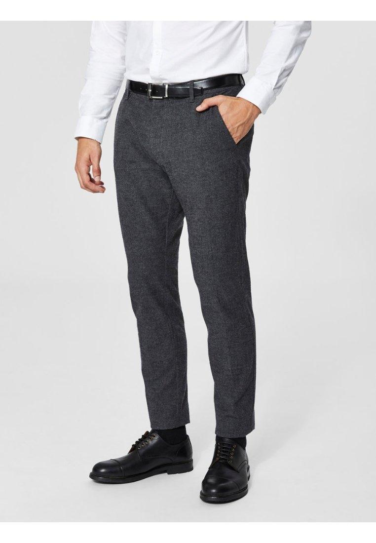 Selected Homme - Pantalón de traje - black