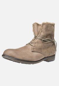 Fitters - HANNA - Šněrovací kotníkové boty - taupe - 2