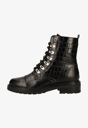 Lace-up ankle boots - schwarz blcr