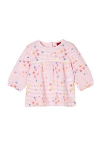 s.Oliver - Long sleeved top - light pink stripes flowers - 2