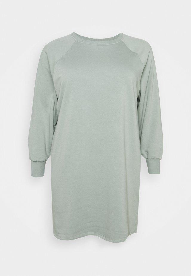 NMLUPA DRESS CURVE - Vapaa-ajan mekko - slate gray