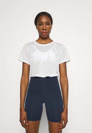 ONE BREATHE - T-shirts - white/black