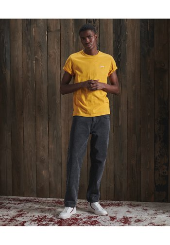 OL VINTAGE EMB  - T-shirt - bas - upstate gold marl