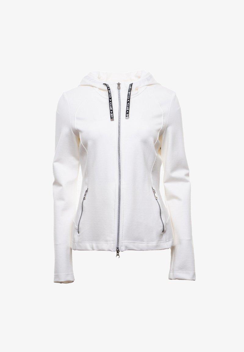 FUCHS SCHMITT - Zip-up hoodie - white