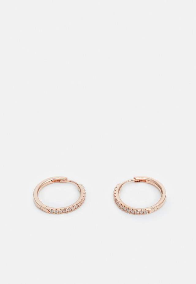 ELLERA GRANDE EARRINGS - Boucles d'oreilles - rosegold-coloured