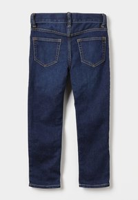 GAP - BOTTOMS SLIM - Slim fit jeans - dark blue denim - 1