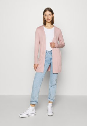 ONLDIXIE CARDIGAN - Cardigan - rose smoke