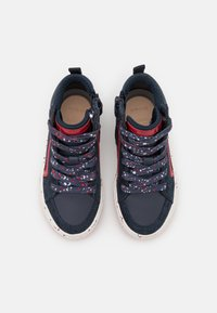 Geox - ALONISSO BOY - High-top trainers - navy/red - 3