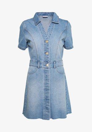 NMLISA DRESS - Dongerikjole - light blue denim
