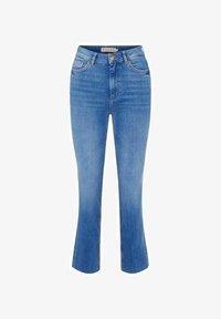 Pieces - Straight leg jeans - medium blue denim - 5