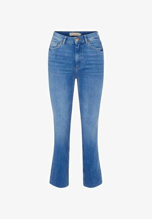 Jeansy Straight Leg - medium blue denim
