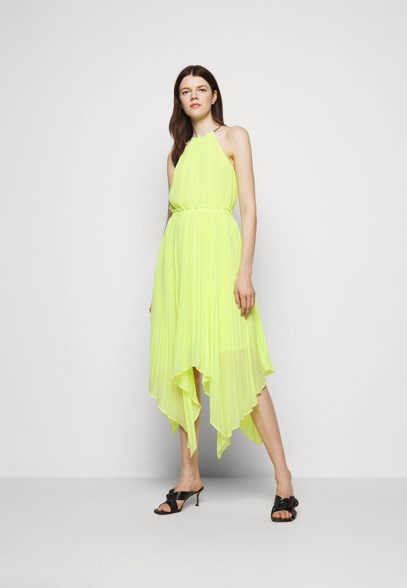 MICHAEL Michael Kors - HALTER CHAIN - Cocktail dress / Party dress - limeade