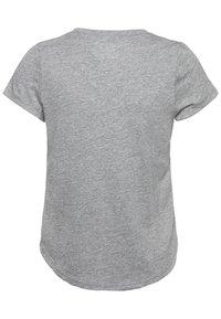 Abercrombie & Fitch - CORE CREW  - Camiseta básica - grey - 1