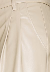 DESIGNERS REMIX - MARIE WIDE PANTS - Trousers - sand - 2