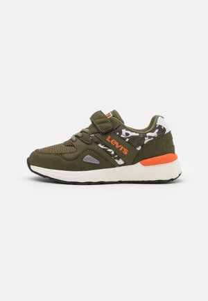BOSTON CAMO  - Sneaker low - khaki/orange