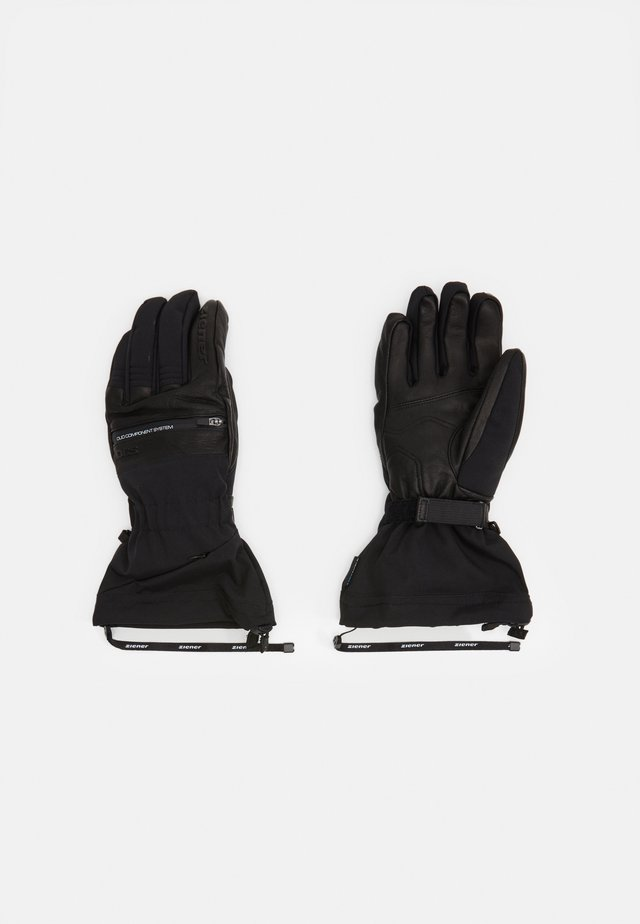 GALLINUS AGLOVE SKI ALPINE - Fingervantar - black