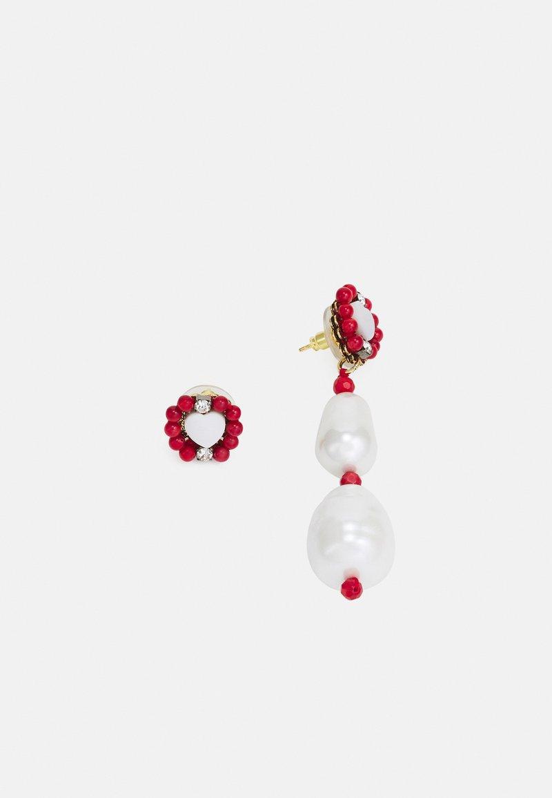 Radà - Earrings - red