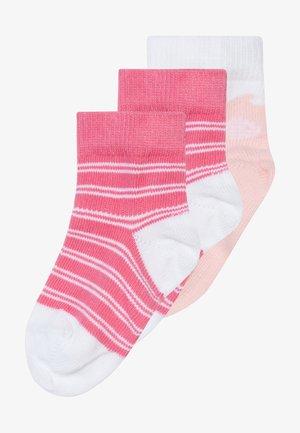 BABY 3 PACK - Socks - light pink/white