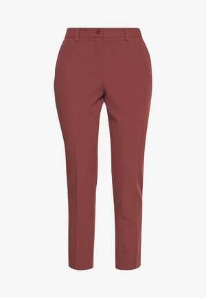 TROUSERS - Pantaloni - bordeaux