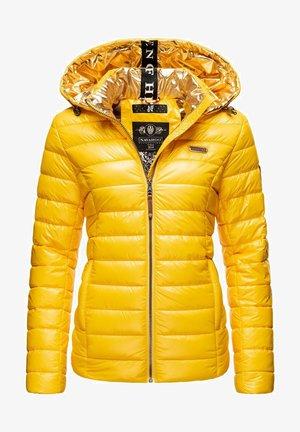 Winter jacket - dark yellow