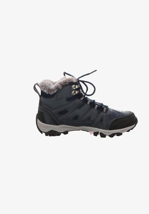 High-top trainers - navy
