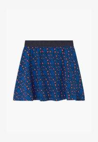 Lemon Beret - SMALL GIRLS - A-line skirt - olympian blue - 0