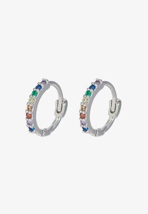 RAINBOW HUGGIES - Earrings - silver-coloured