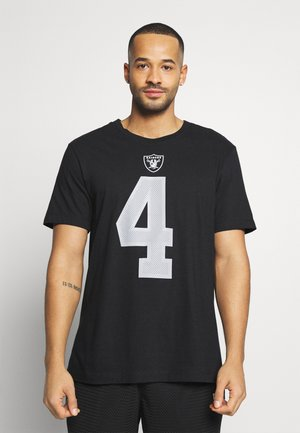 NFL LAS VEGAS RAIDERS PLAYER ESSENTIAL - Club wear - black