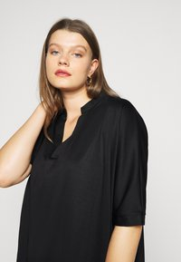Zign Curvy - Jersey dress - black - 4